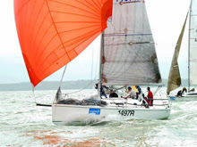 J/97 sailing Solent Hamble Winter Series