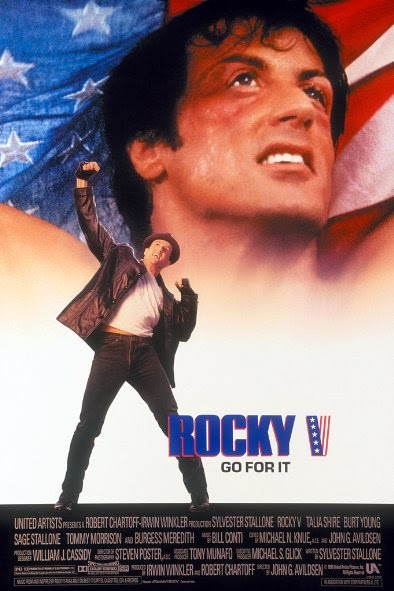Poster Of Rocky V (1990) Full Movie Hindi Dubbed Free Download Watch Online At alldownloads4u.com