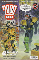 2000AD 1234 Cover