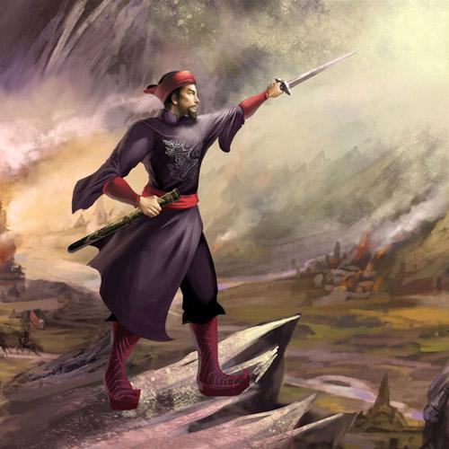 Lộ diện tạo hình Hưng Đạo Vương trong Ngũ Hổ Tướng 2