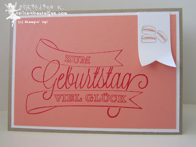 stampin up, inkspire me #140, dein tag, another great year, pennants, birthday, geburtstag