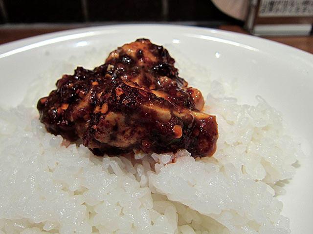 麻婆豆腐をご飯にのせてマーボー丼にしてみた