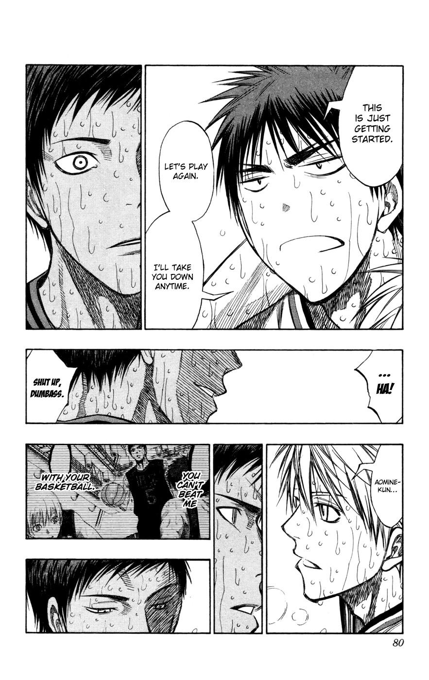Kuroko no Basket Manga Chapter 139 - Image 12