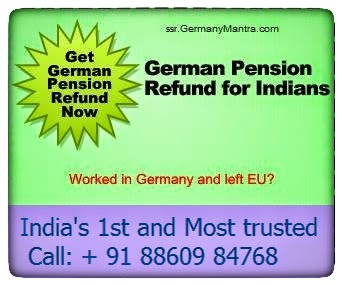 German pension refund Ad