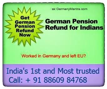 German pension refund Ad