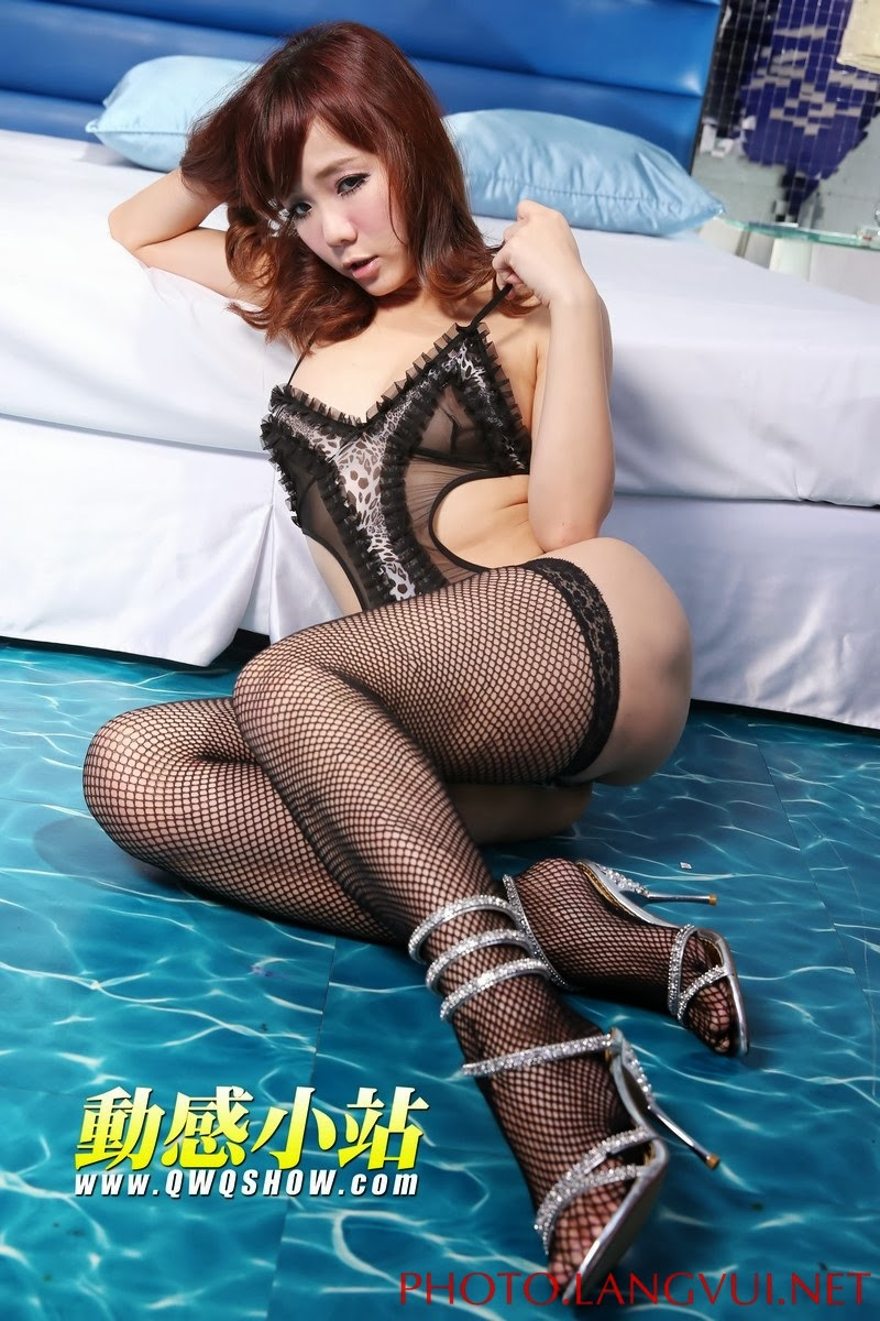 Sexy Uốn Éo Trên giường