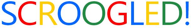 SCROOGLED! Logo