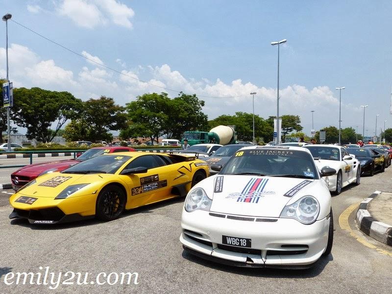 Amicitia Rally super cars club