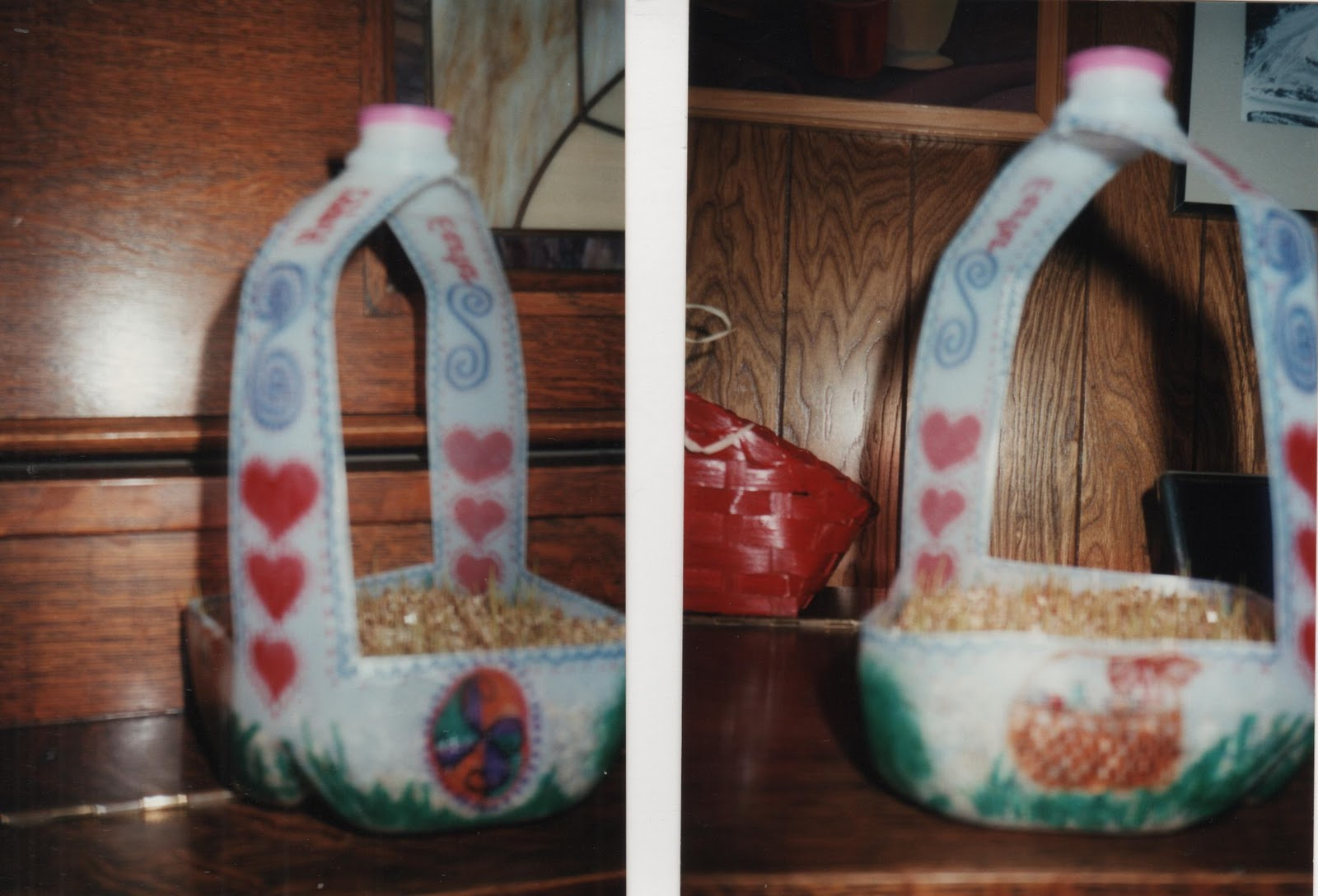 Elementary school enrichment activities milk jug easter baskets milk jug easter baskets negle Image collections