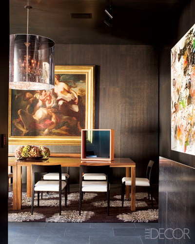 Creating Major Impact Using Unexpected Bold Wall Color