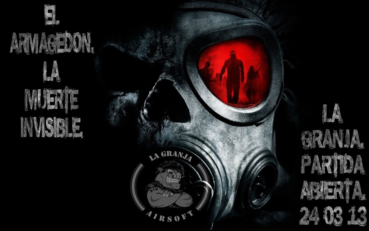 "PARTIDA ""EL ARMAGEDON (LA MUERTE INVISIBLE)"". LA GRANJA 24-03-13. Creepy_skull-wallpaper-1440x900"