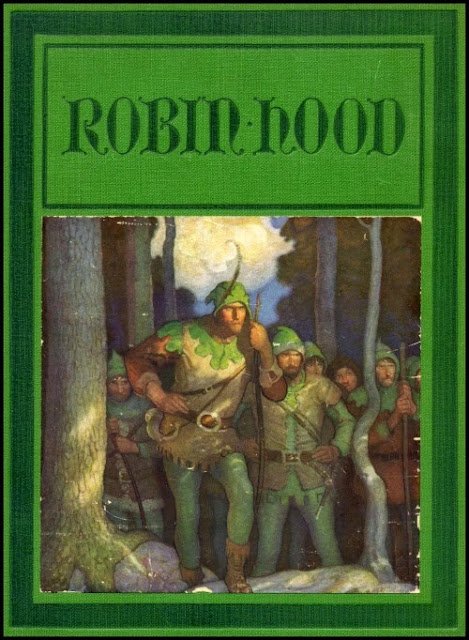 N. C. Wyeth - Robin Hood, cover illustration