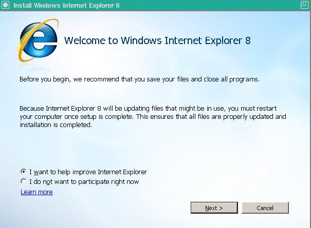 Install Internet Explorer 8 In Linux