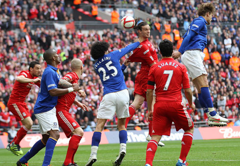 Andy Carroll, Liverpool - Everton