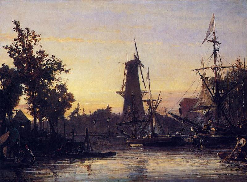 Johan Jongkind - Binneshaven, Rotterdam