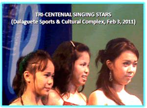 Tri-Centennial Singing Starts