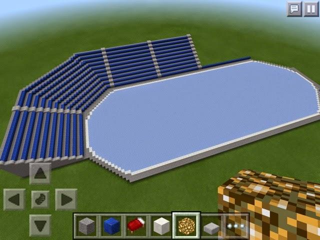 Sami S Minecraft And Roblox Blog Minecraft Creation Hockey Arena