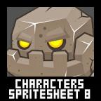 Miner Character Spritesheet