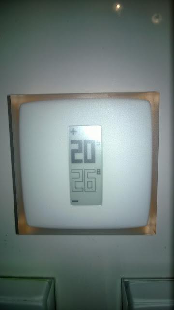 Thermostat au mur