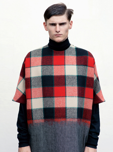 Alexander Beck in Shaun Samson F/W 2012 by Thomas Lohr for Revista Metal Spring 2012.
