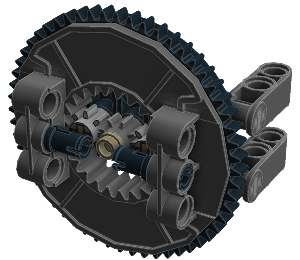 Planetary Geared Wheel 05