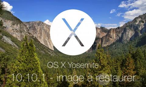 Mac OS X 10.10.1 Image disque prête à restaurer iLife et iWork pré-installés