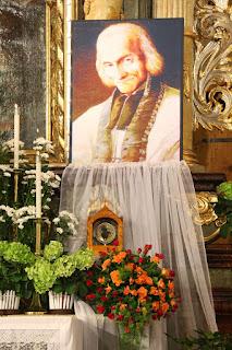 Relikvie na oltáři
