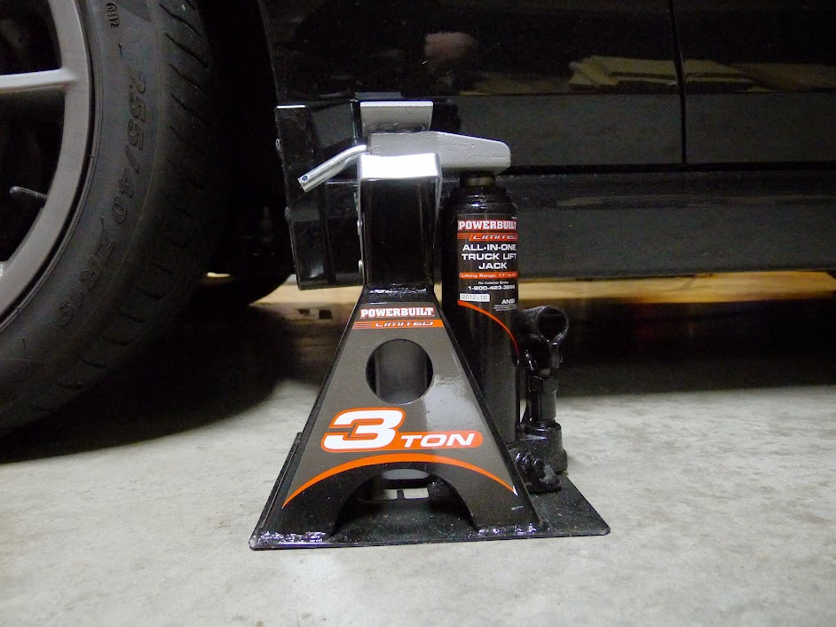 How To Get Your Car On Four Jackstands