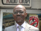 Constant N'dom Nda Ombel. Radio Okapi/Ph. John Bompengo