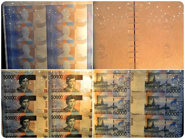 Proses Cetakan Uang 50 Ribu Baru