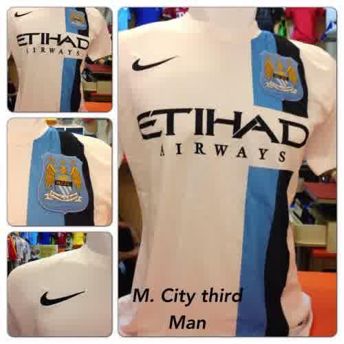 Jual Jersey Manchester City 3rd Warna Putih