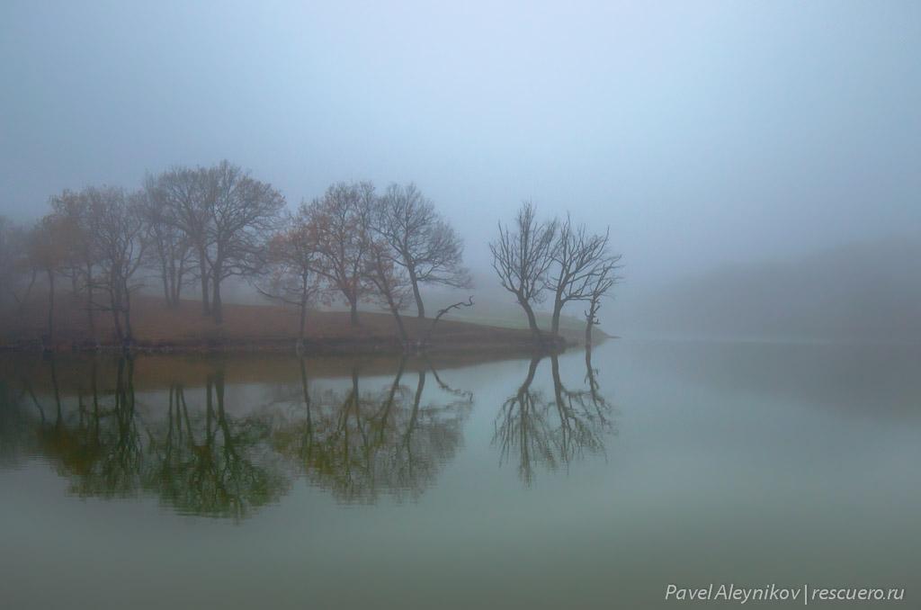 Осень на кошелевской плотине, Торез