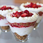 Eggless Strawberry Cheesecakes
