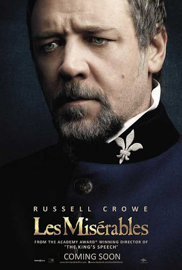 "Los Miserables, cartel con Russell Crowe"" width="