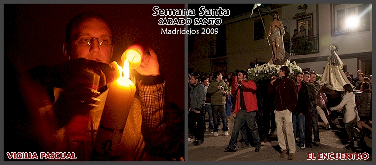 Vigilia Pascual en el Convento de las Hermanas Clarisas - El Encuentro