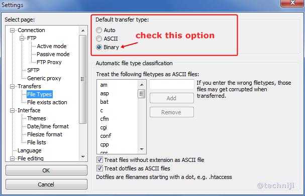 Fixing blank line error in file