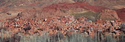 Slikovita rdeča vasica Abyaneh