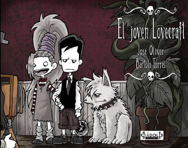 El Joven Lovecraft - portada tomo 3