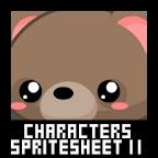 Kawaii Character Spritesheet