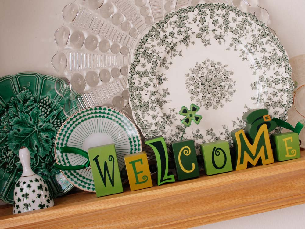St Patricks Day Welcome vignette by Selep Imaging
