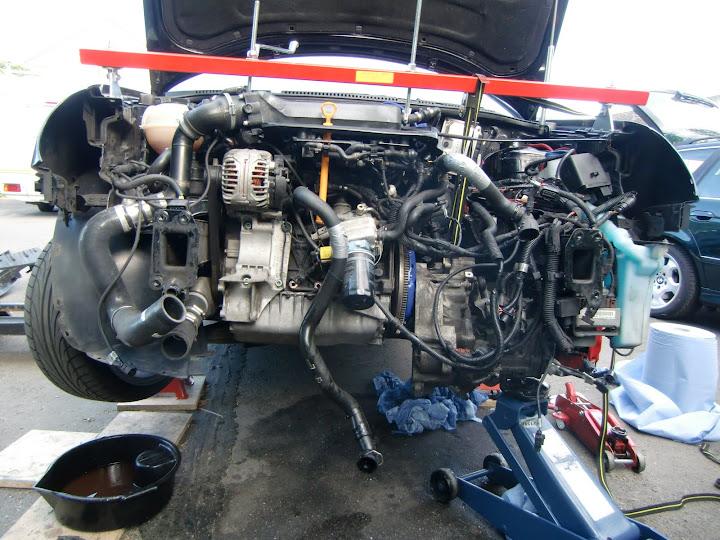 Polo 19 Tdi Getriebeausbau