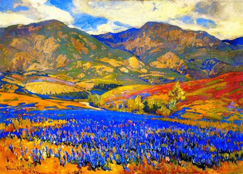 Franz Bischoff - Spring Flowers