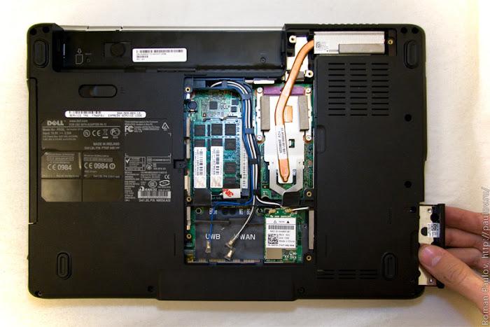 Как разобрать ноутбук Dell Inspiron 1525 4