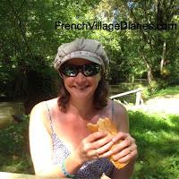 french village diaries marais poitevin deux sevres france barque Arcais picnic