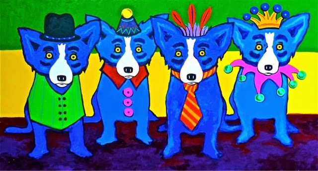 how to draw blue dog