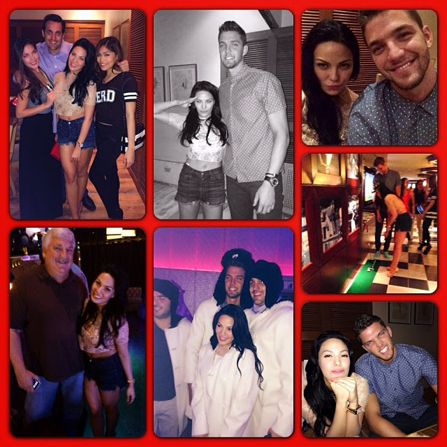 KC Concepcion and NBA's Chandler Parsons Instagram Photo