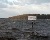 Fredag eftermiddag 6/12-13 - plus 150 cm vand