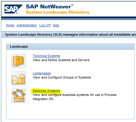 SAP PI Business System