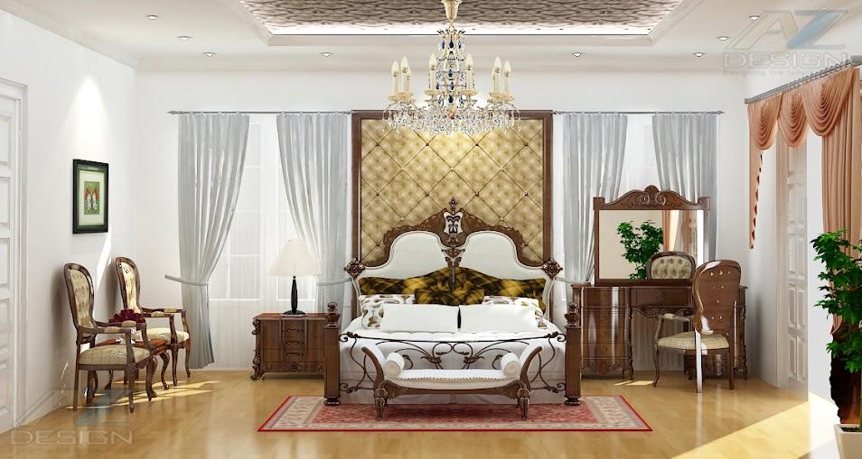 Thiết kế nội thất sang trọng phong cách hoàng gia