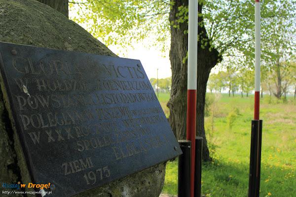 Pomnik powstańców listopadowych w Fiszewie